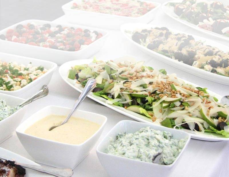 mad ud af huset fra vip teltudlejning