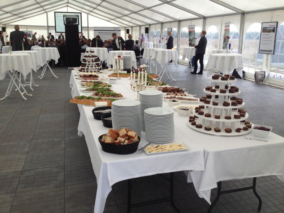 catering vip teltudlejning