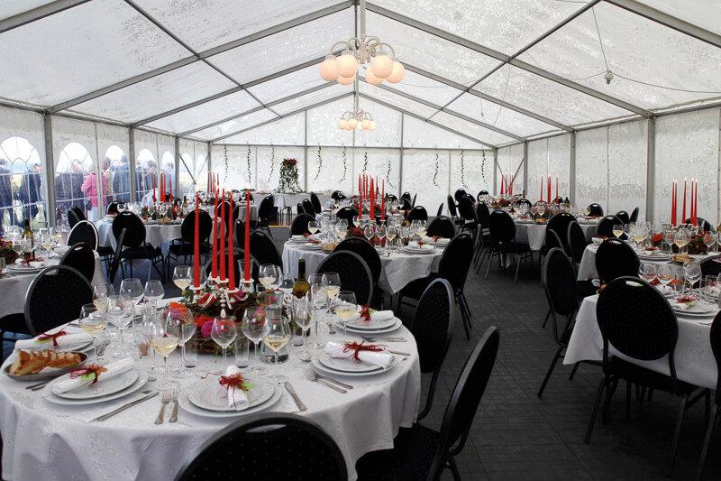 Nu kan du leje Danmarks flotteste bryllupstelt med