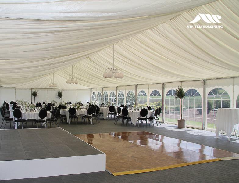 Bryllup i telt? Gode råd til bryllupsfesten