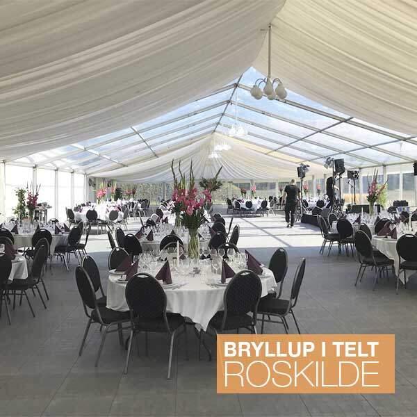 roskilde teltudlejning bryllup